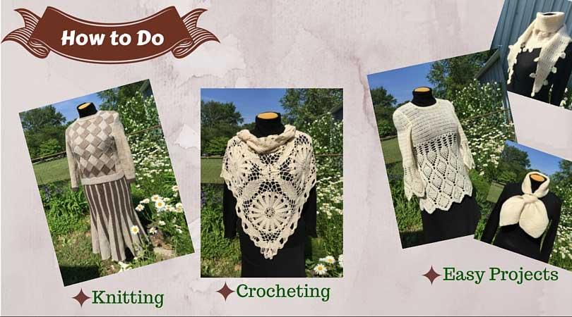 Knit crocheting smart