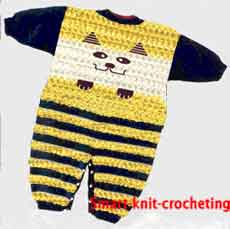 Baby crochet pattern #2. Crochet for kids.