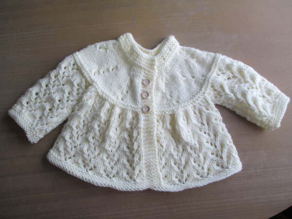 Tiny knitted sweater