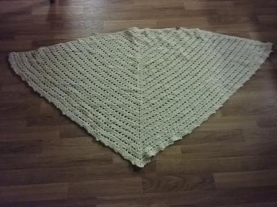 Finished shawl