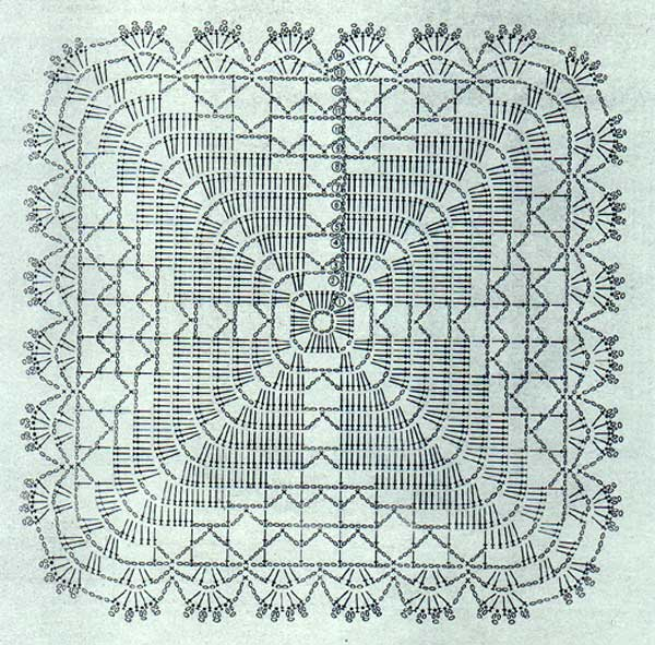 Crocheted Doilies Patterns Free Patterns