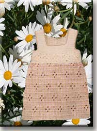 Knitted Dress on Dress  From The Baby Dresses Free Crochet Patterns Category And Knit
