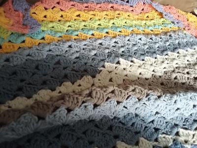 Crochet Drunken Granny Stitch