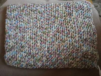 Moss Stitch Heating Pad Cover