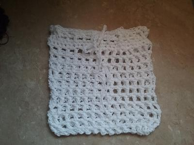 Double Crochet Mesh Produce Bag