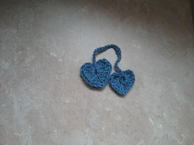 Double Heart Bookmark