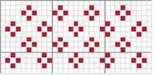 Filet crochet charts