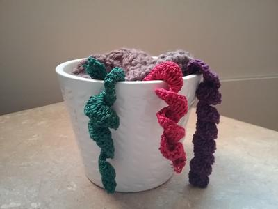 Crochet Hanging Succulent
