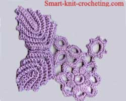 Irish Crochet Rose Motif Free Pattern - Squidoo : Welcome to Squidoo