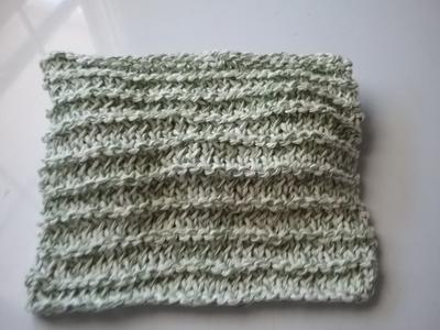 Knitted Dishcloth 4
