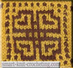 Mosaic Knitting Pattern