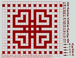 Pattern 2 Mosaic Knitting