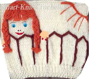 A sweater for  a girl