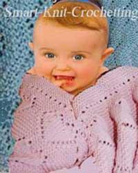 Baby Blanket Knit Pattern