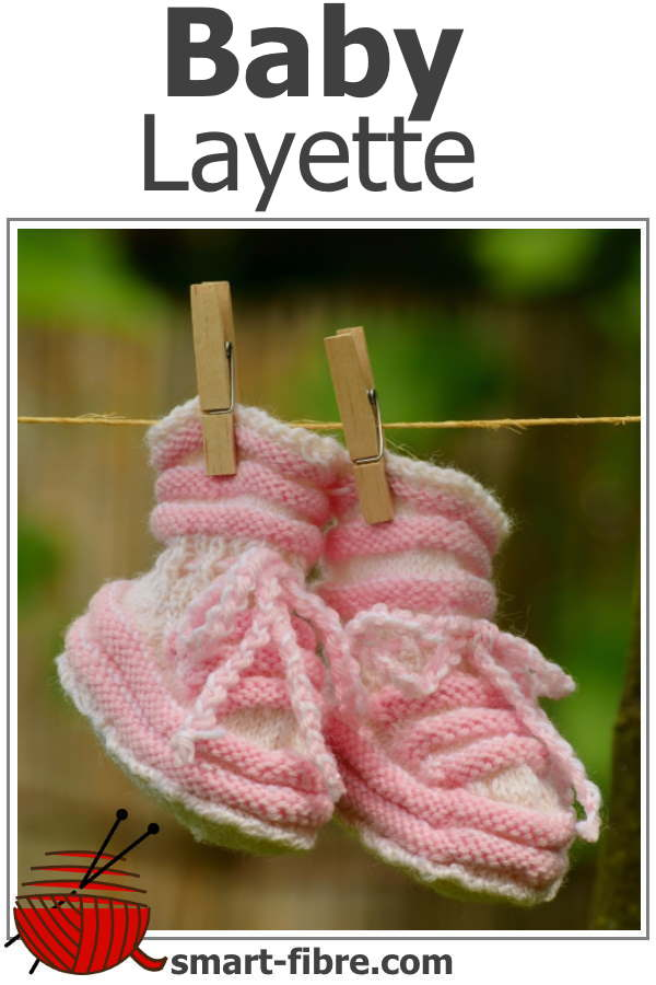 Baby Layette - tiny booties