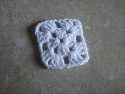 Basic Crochet Granny Square