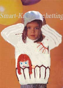 A girl sweater